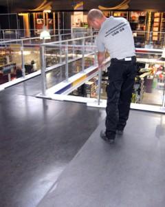 vloeren reinigen